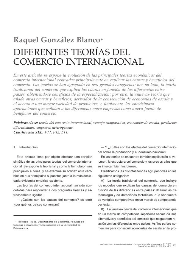 Comercio pro teorias economicas 2