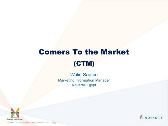 Comers To the Market                                                            (CTM)                                     ...