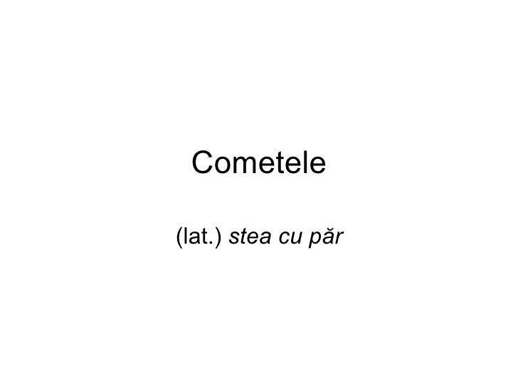 Comete