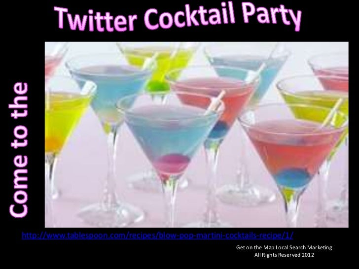 Come to the Twitter Cocktail Party