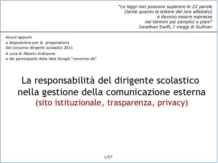 Comext ds-siti-trasparenza