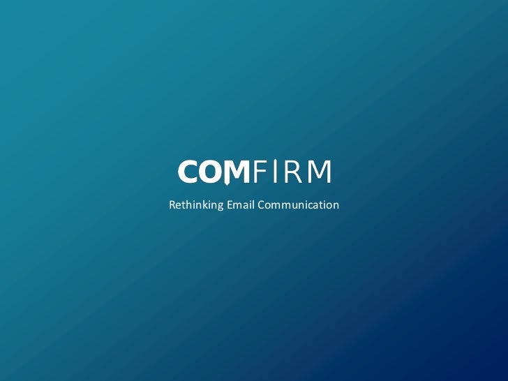 Comfirm AlphaMail