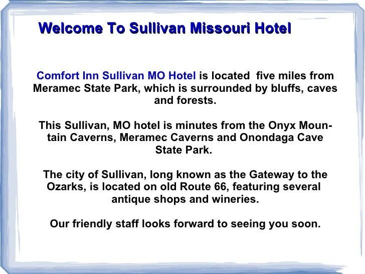 Hotel in Sullivan MO