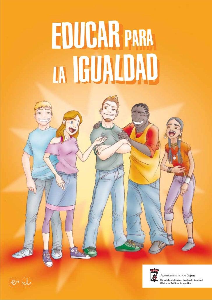 Comic educar para la igualdad
