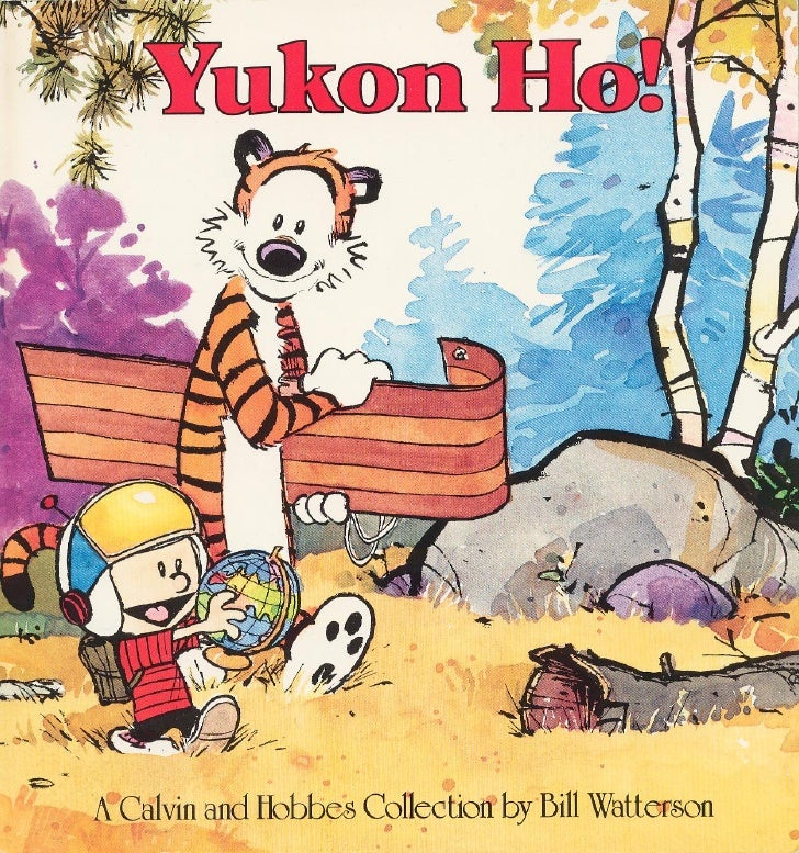(Comic Book)   Calvin And Hobbes   Yukon Ho! 1987 1988