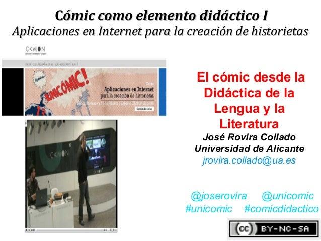 Comic elemento didactico ii jose rovira febrero camon2013