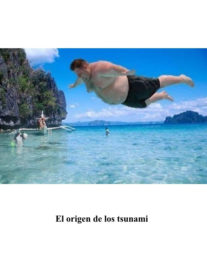 El origen de los tsunami