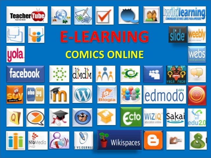 E-LEARNING<br />COMICS ONLINE<br />