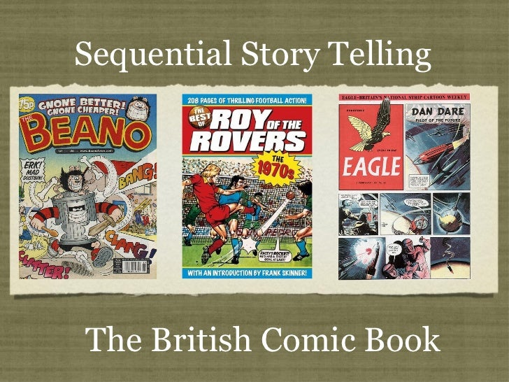 Text Sequential Story Telling The British Comic Book