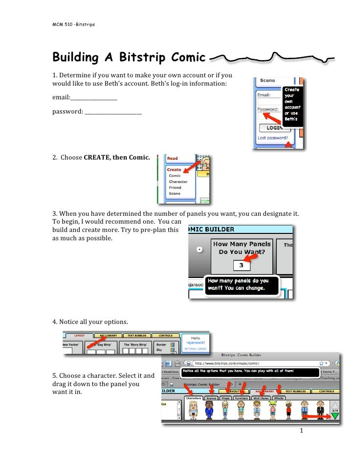 MCM 510 -Bitstrips  