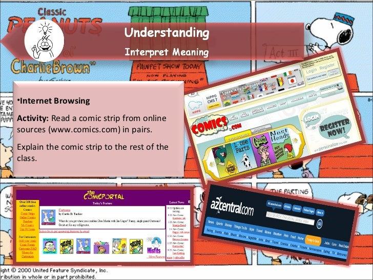 Write a comic strip lesson plan