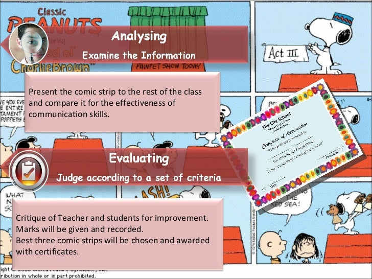 comic strip lesson plan Write, sequence and illustrate a story using this blank comic strip blank storyboard.