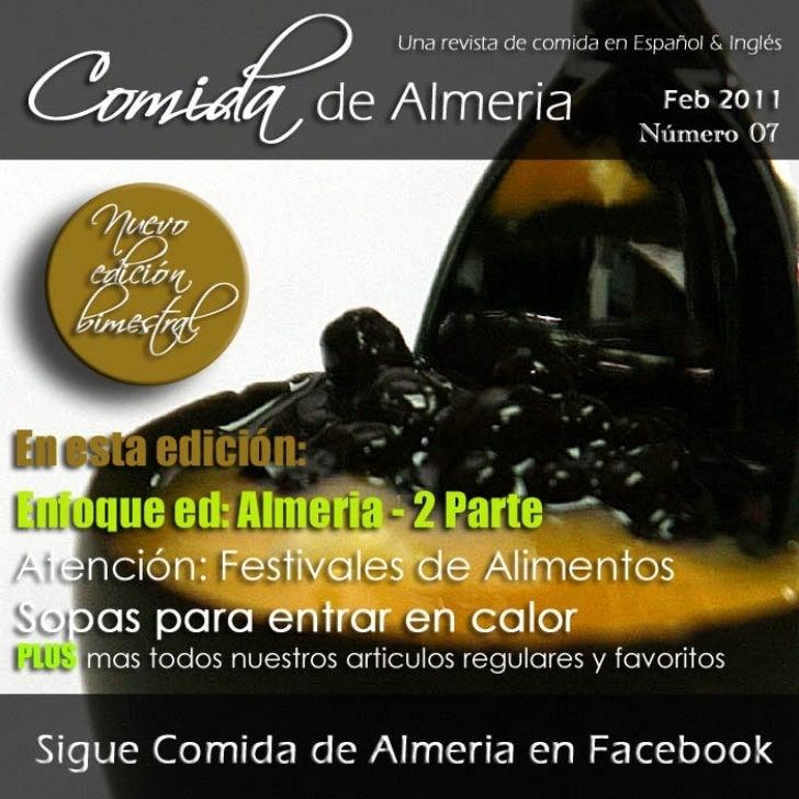 Comida de Almería