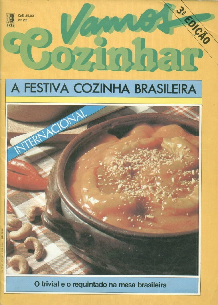 Brazilian Cook  Excelent brazilian cook book with easy preparation and good taste. It´s a very important rare book because...