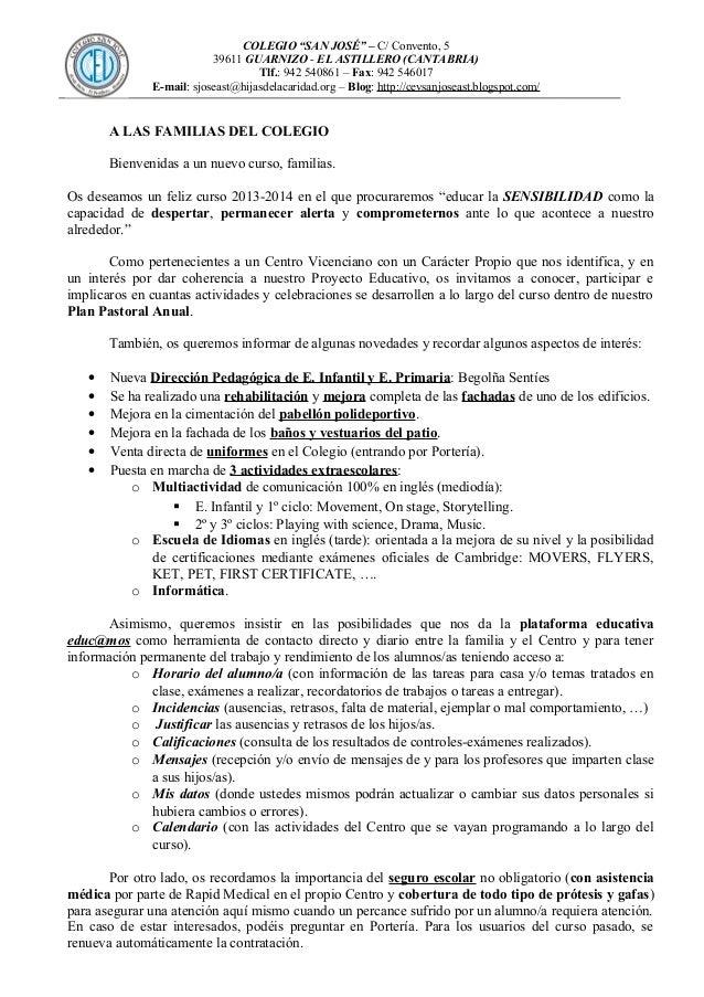 Comienzo curso 13 14 23-09-13