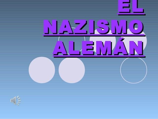 El partido NAZI en Alemania