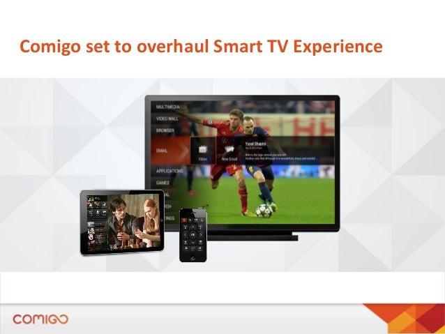 Comigo set to overhaul Smart TV Experience
