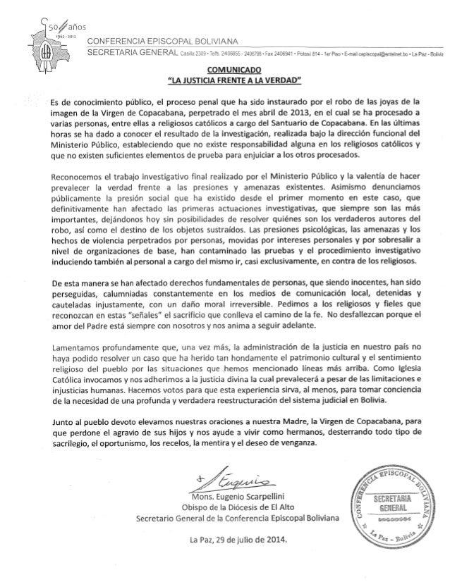 Comisión Episcopal Boliviana