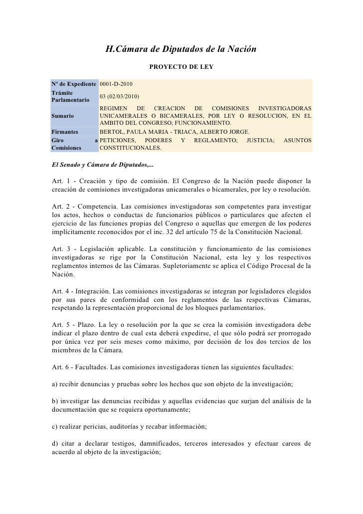 Comisiones investigadoras