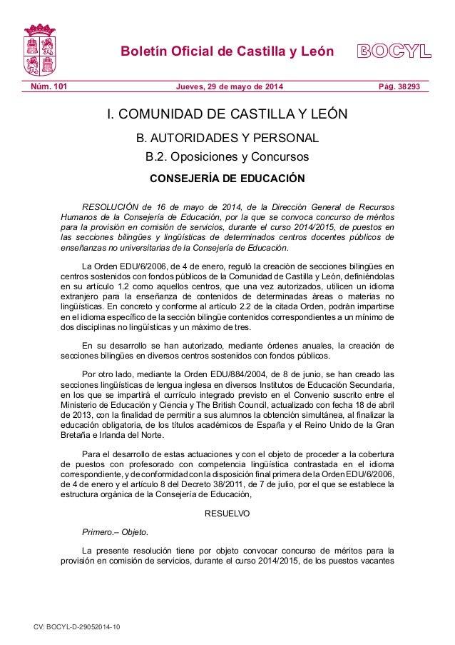 Comisiones secciones bilingues