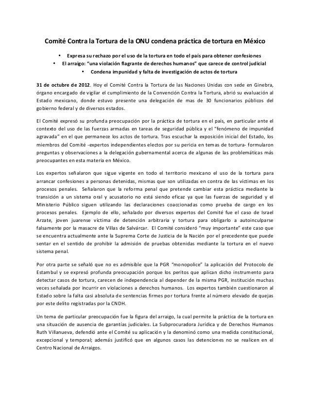 Comité comunicado sesiones cat_desde_ginebra