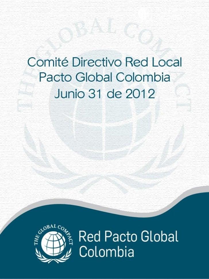 Empresas Adheridas a  julio 29 de 2012
