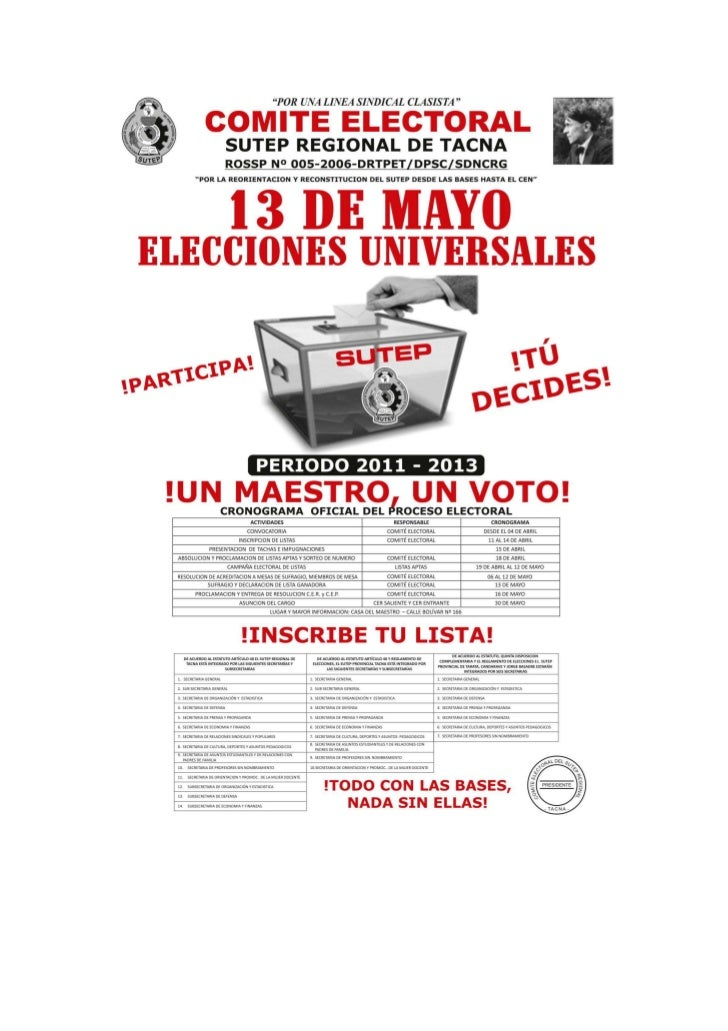 Comite electoral