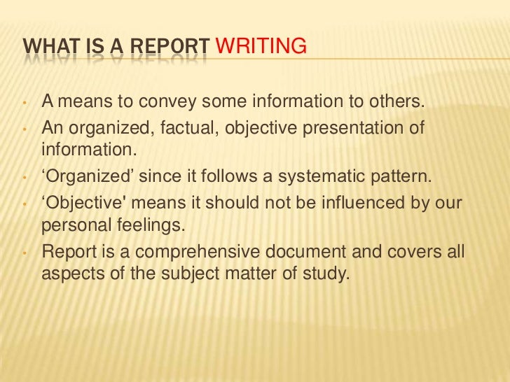 Steps for Writing an Accident Report