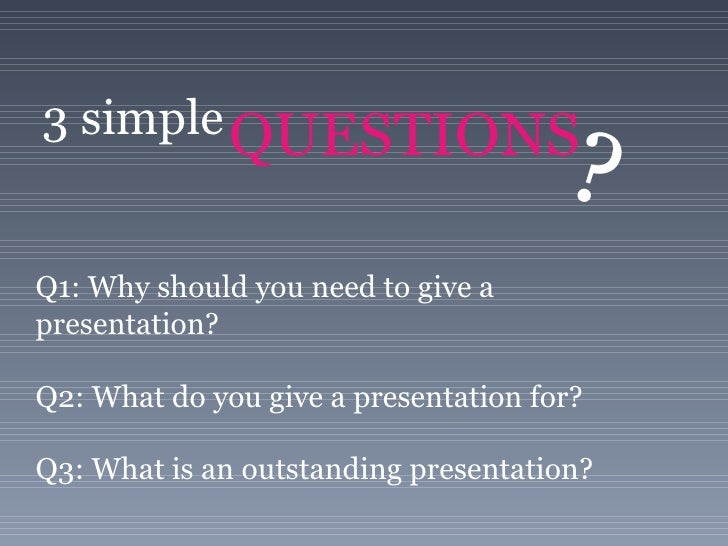 Ten Commandments of Presentation