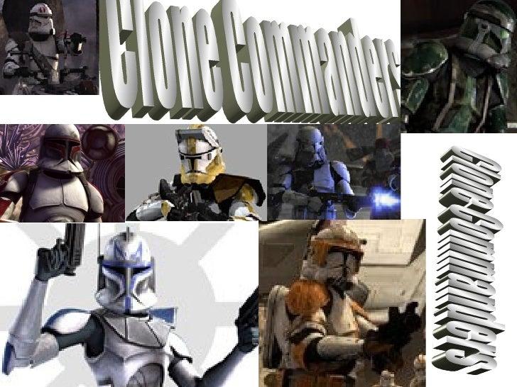 Clone Commanders Clone Commanders