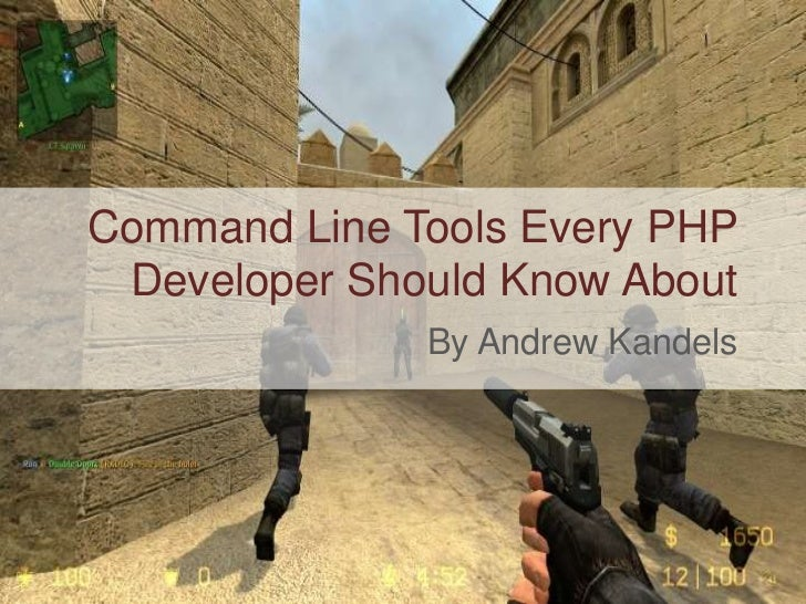 Command Line Tools Every PHP Developer Should Know About<br />By Andrew Kandels<br />