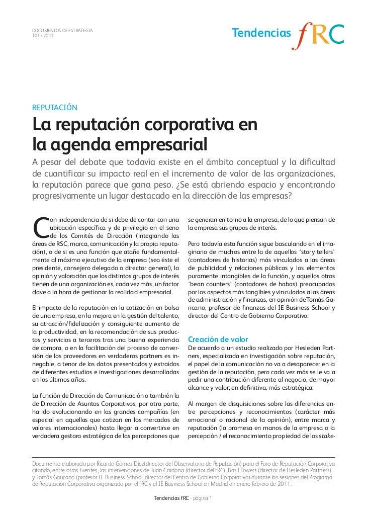 DOCUMENTOS DE ESTRATEGIAT01 / 2011                                                                          TendenciasREPU...