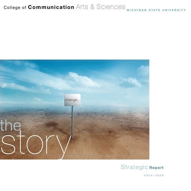 Comm Arts Strategic Report