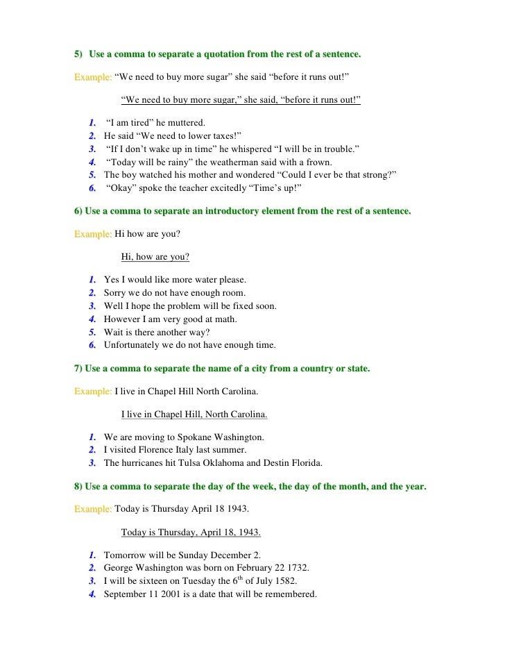 Comma Splice Worksheet Rringband – Comma Practice Worksheets