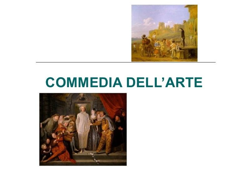 COMMEDIA DELL'ARTE
