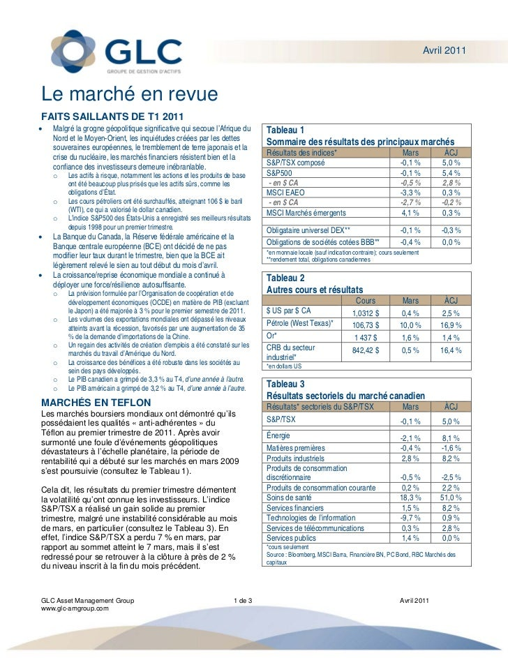 Commentaires d\'avril 2011