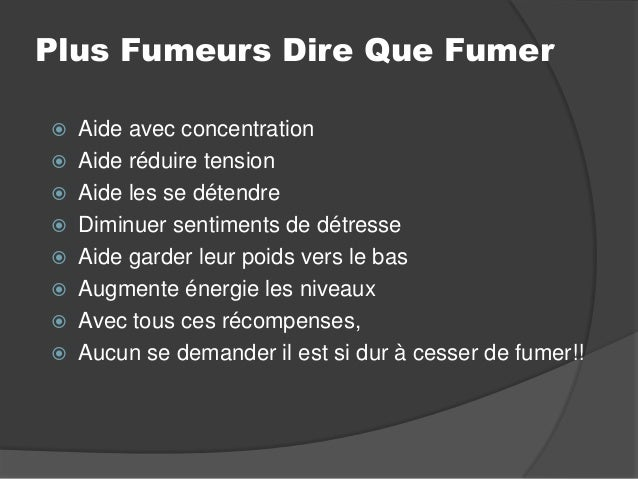 Cesser de fumer il est simple torrent