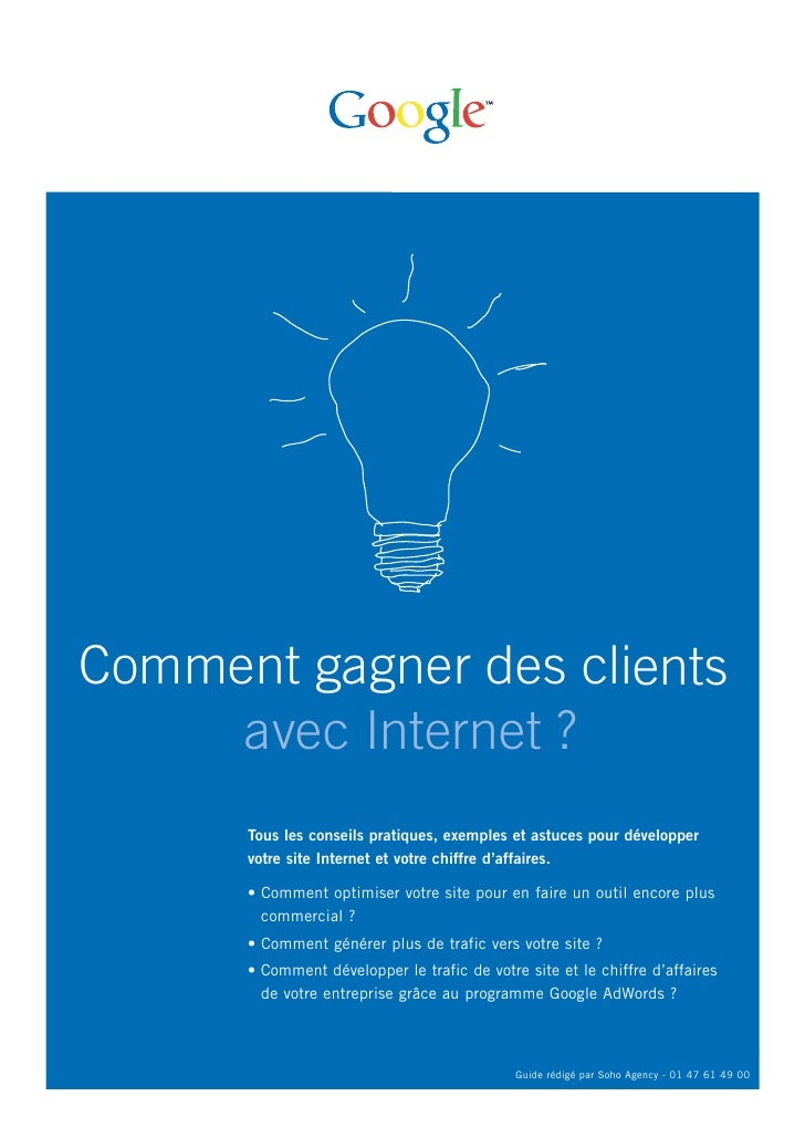 Comment gagner des clients     avec Internet ?      Tous les conseils pratiques, exemples et astuces pour développer      ...