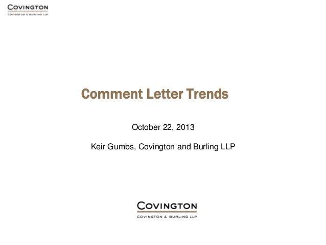 SEC Comment Letter Trends