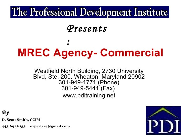 Commercial agency