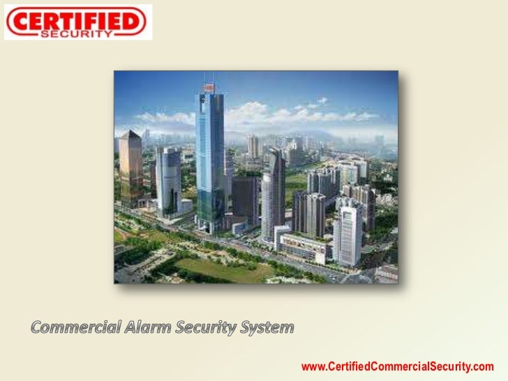 Commercial Alarm Security System