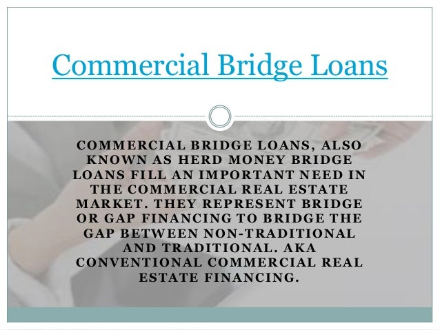 loans for commercial: