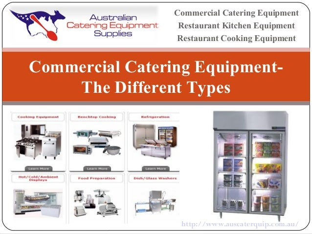 Commercial catering equipment the different types for Kitchen equipment definition
