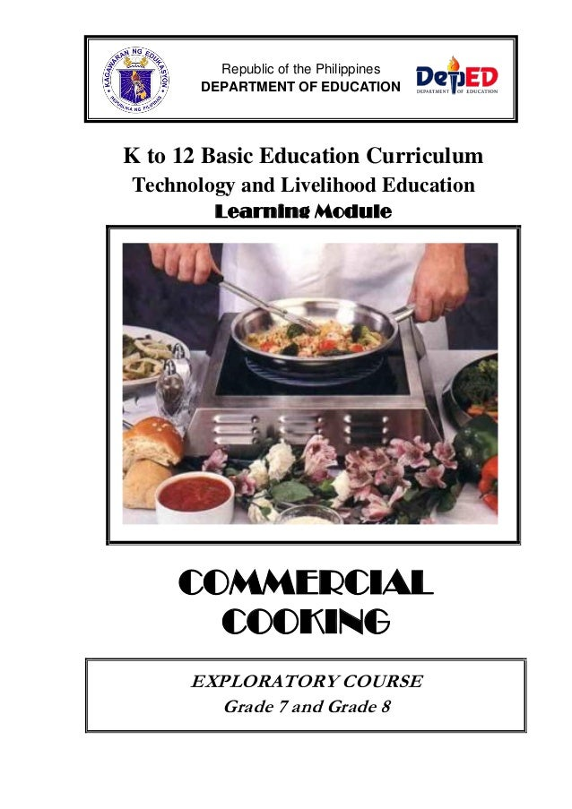 Commercial cooking lm
