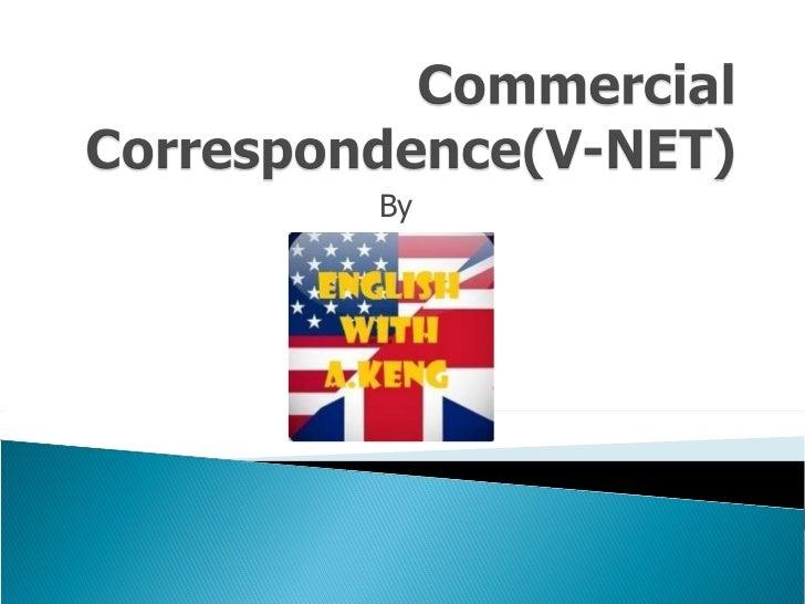 Commercial correspondence(v net) week4 2003format