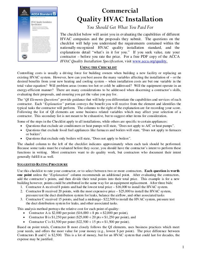 Image Result For Hvac Inspection Cost