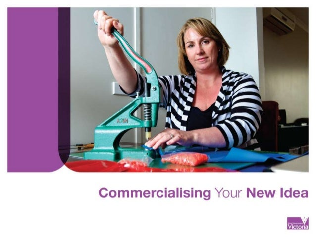 Commercialising your New Idea workshop