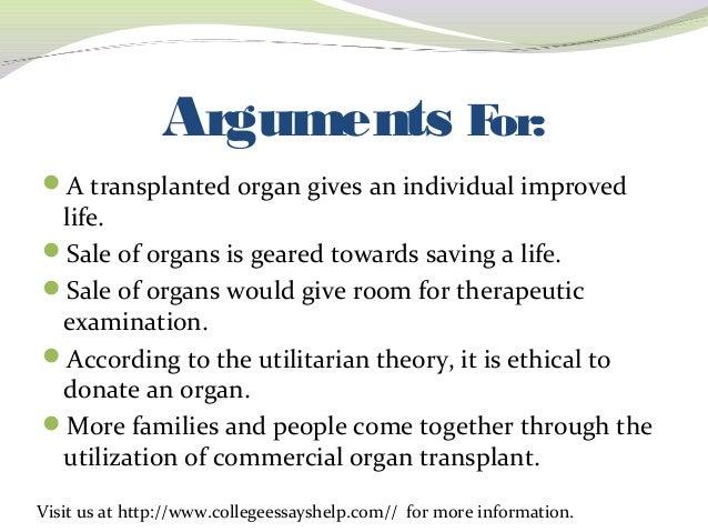transplant essays