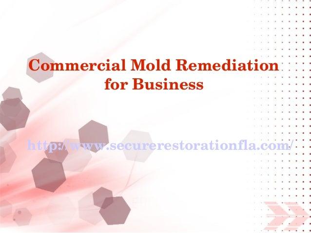 CommercialMoldRemediation       forBusinesshttp://www.securerestorationfla.com/
