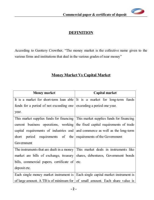 What is CP (Commercial Paper) investment?